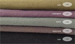 collection cotons unis tons foncés - 100% coton