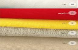 collection cotons unis - 100% coton