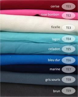 collection toile épaisse - 100% coton - convient pour L'EXTERIEUR DES SACS A DOS ET DES SACS A MAINS