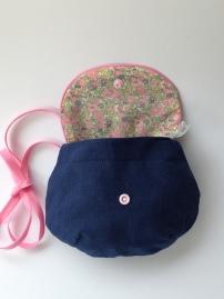 petit sac à porter en bandoulière - APPRENDRE A MONTER UN RABAT ET UNE DOUBLURE, POSER UN PASSEPOIL