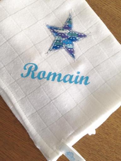 modèle classique - tissu collection Liberty - flex pastel bleu
