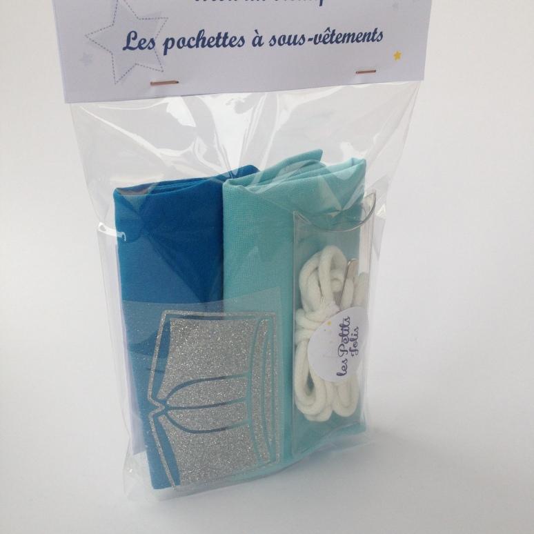 kit couture : pochettes à sous vêtements