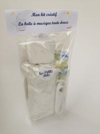 kit couture boîte à musique - tissu au choix - les Petits Jolis